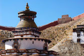Ancient lamasery in Tibet — Foto Stock
