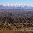 panorama in tibet — Foto Stock