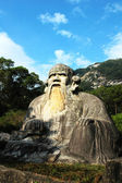 Giant statue of Laozi — Stock Photo