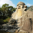 Stock Photo: Giant statue of Laozi