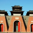 Chinese buildings — Foto Stock