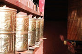 Prayer wheels — 图库照片