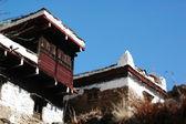 Tibetan buildings — Stock Photo