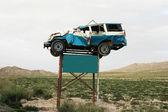 предупреждение аварий трафика — Стоковое фото