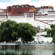 Potala Palace in Lhasa Tibet - Stock Photo