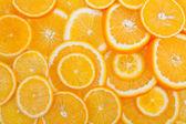 Fondo de frutas naranja — Foto de Stock