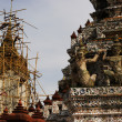 Renovating Wat Arun — Stock Photo #4321846