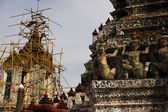 Renovating Wat Arun — Stock Photo