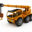 Royalty-Free Stock Photo: Truck crane