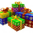 Stock Photo: Gifts for New Year
