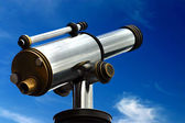Spyglass in the sky — Stock Photo