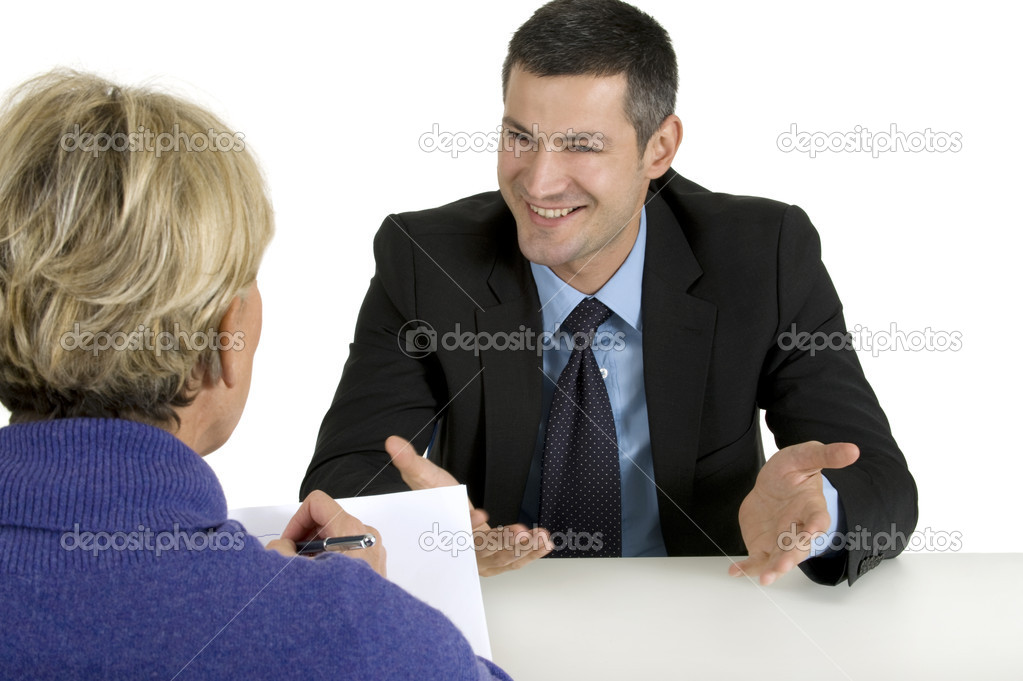 Job interview — Foto Stock #4826325