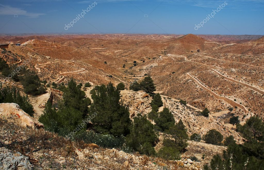 Desert view, Tunisia  Stock Photo #4561406
