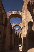 Colosseum in El Djem, Tunisia — Stock Photo