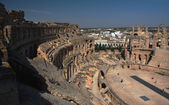 Coloseum in El Djem, Tunisia — Stock Photo