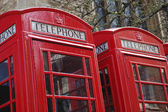 Phone box — Stockfoto