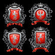 Coat of arms - Vettoriali Stock