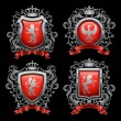 Royalty-Free Stock Векторное изображение: Coat of arms