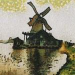 Holland Windmill — Stock Photo #4516127