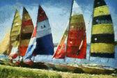 Catamarans — Stock Photo