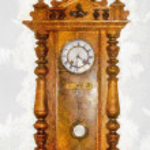 Grandfather Clock — Stock Photo