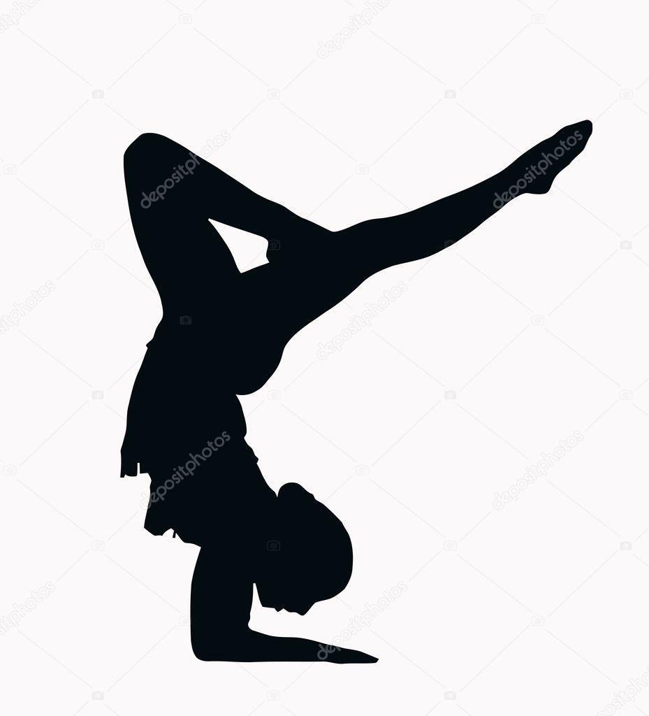 clip art gymnastics poses - photo #29