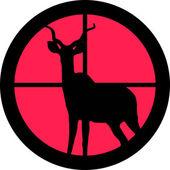 I Scope-serien - Kudu / Koedoe — Stockvektor