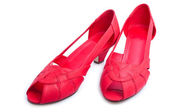 Red shoes — Stockfoto