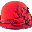 ������, ������: Red womens hat
