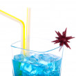 Royalty-Free Stock Photo: Blue Hawaiian Cocktail