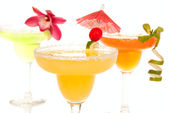Margarita cocktails — Stock Photo