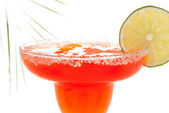 Strawberry margarita cocktail — Stock Photo
