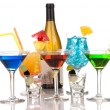 Most popular alcoholic cocktails drink composition — Stock Photo #4812533