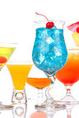 Najbardziej popularne koktajle napoje alkoholowe — Zdjęcie stockowe