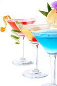 Tropical Martini Cocktails — Stock Photo