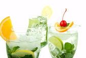 Tropical Mojito Cocktails — Stock Photo
