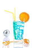 Голубые Гавайи коктейль — Стоковое фото
