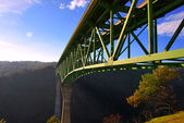 Auburn Bridge Foresthill California highest — Stock Photo
