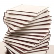 Stack of real books - Stockfoto