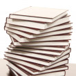 Stock Photo: Stack of real books