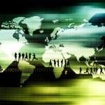 世界范围内业务概念 — 图库照片