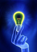 Electricity or Idea Concepts — Stock Photo
