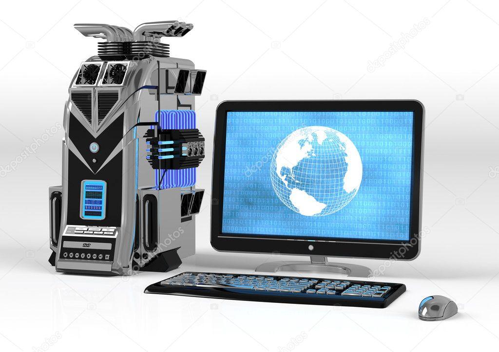 Super Computer — Stock Photo © nmedia #4359827