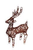 рождественский олень — Стоковое фото