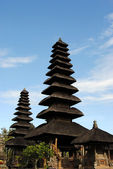 The Indonesian temple — Stock Photo