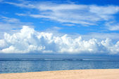 Clouds over Indian ocean — Stock Photo