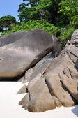 Similansky islands in Indian ocean. — Stock Photo