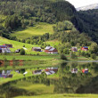 Beautiful rural landscape deep in norwegimountains. — Stock Photo #4288274
