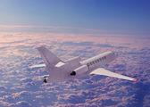 A passenger plane — Stock Photo