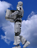 Der roboter — Stockfoto